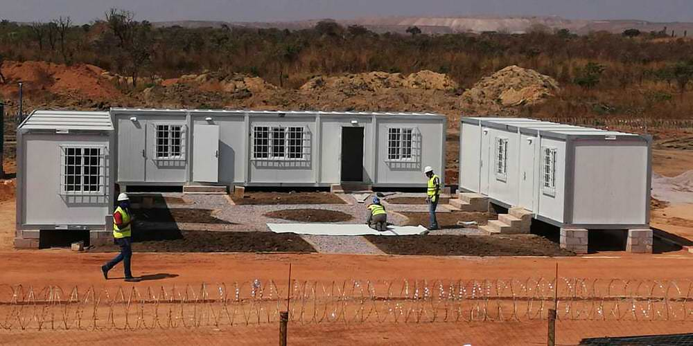 PREFABRICATED MODULAR CONTAINER