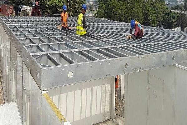 Congo-Prefabricated Buildings Work Camp