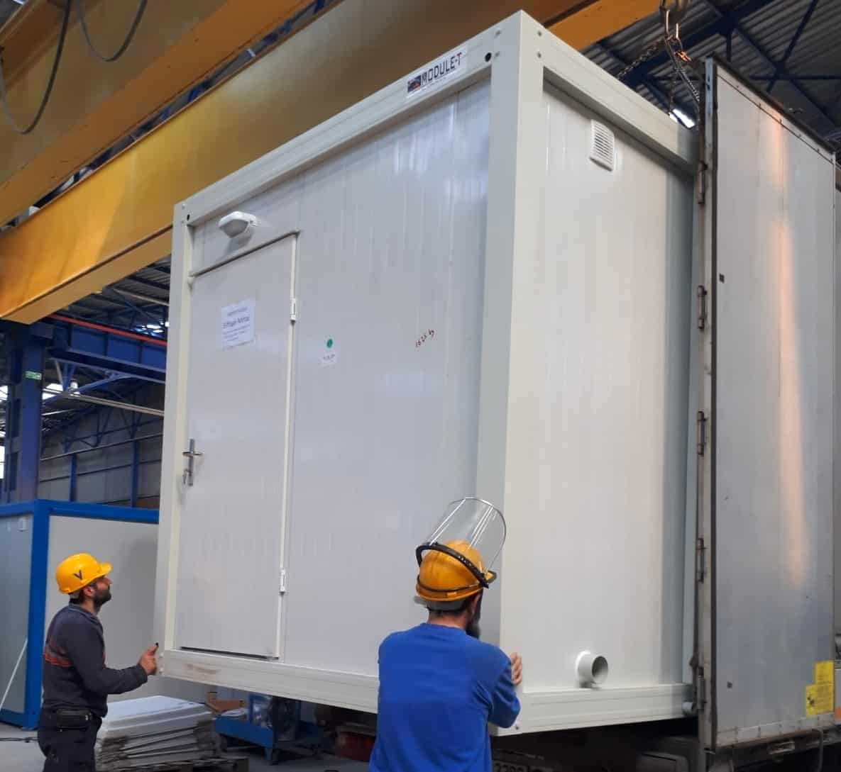 FRANCE – DELIVERY OF WORKSITE PORTABLE CONTAINER