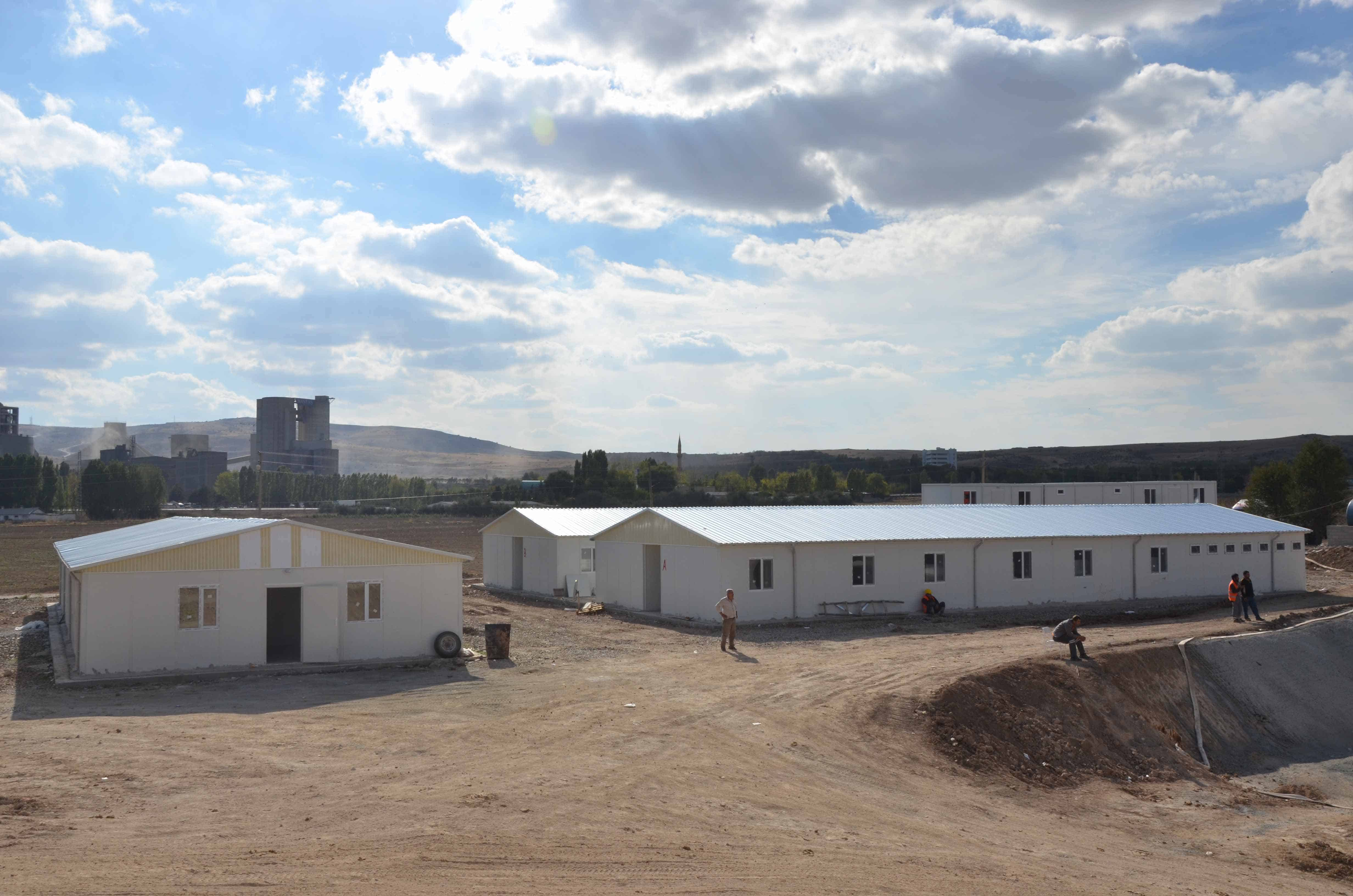 Djibouti-Delivery Of Prefabricated Buildings R+1