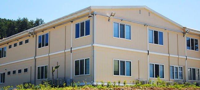 1200 m² Modular Construction