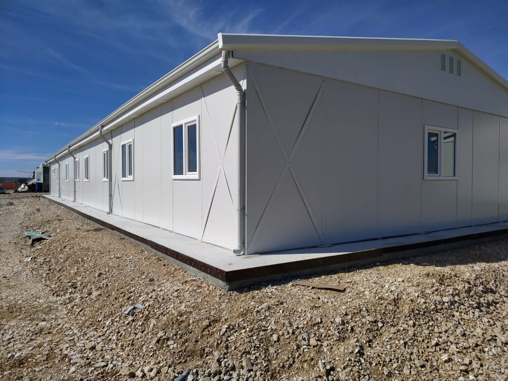 Prefabricated Buildings R+1