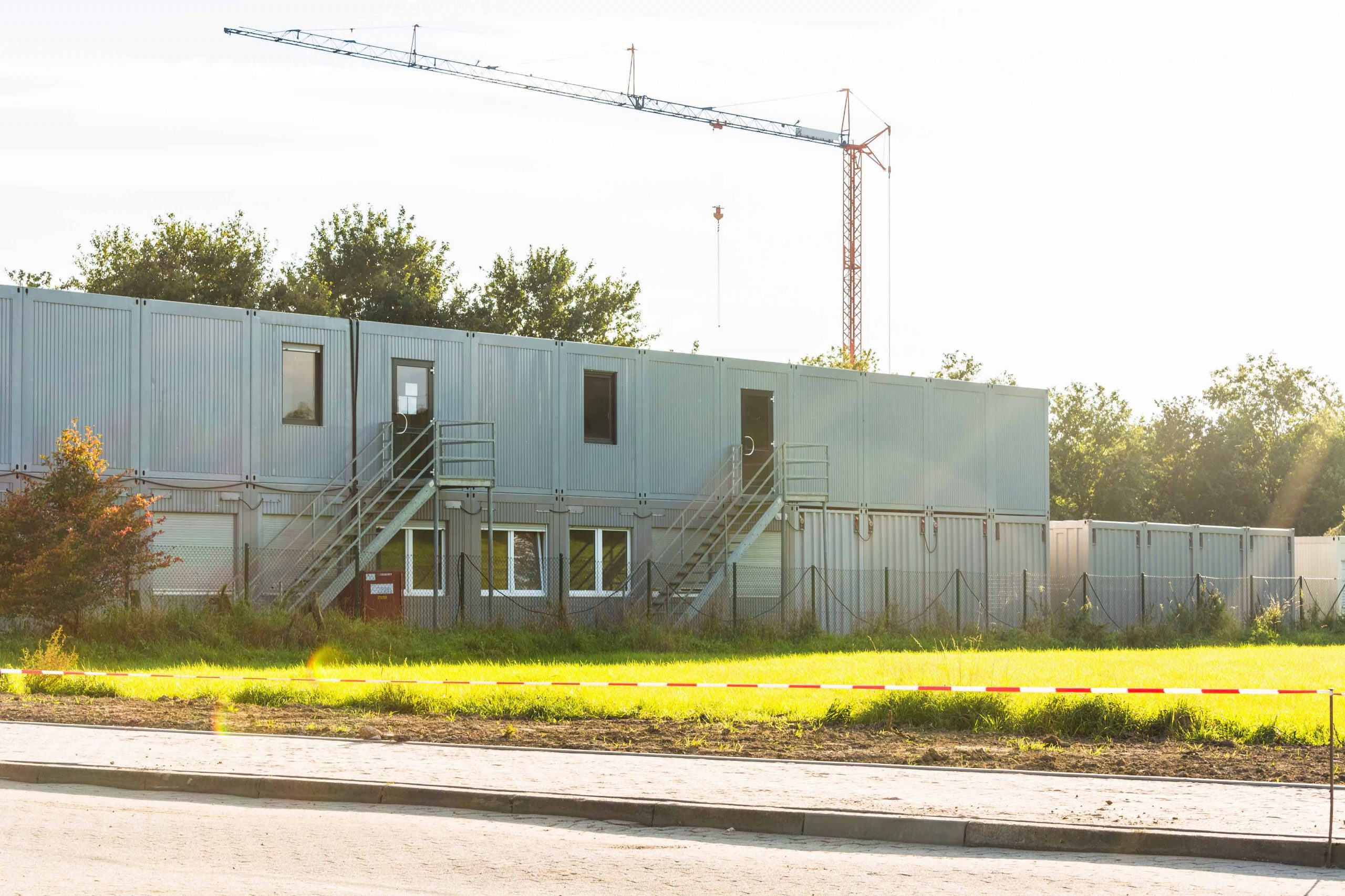 Module-T Prefabricated Worksite Containers in the Caribbean
