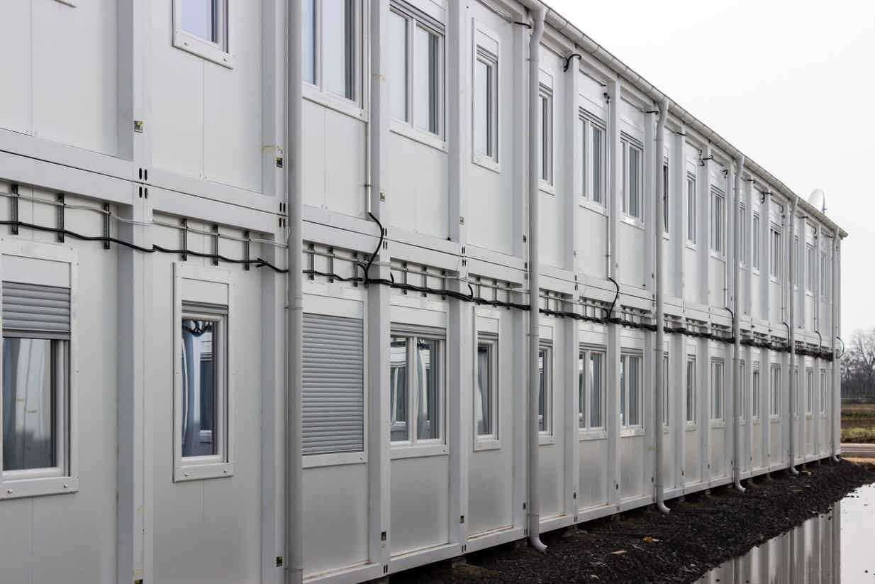 Latin America-Delivery of Modular Portacabin Offices