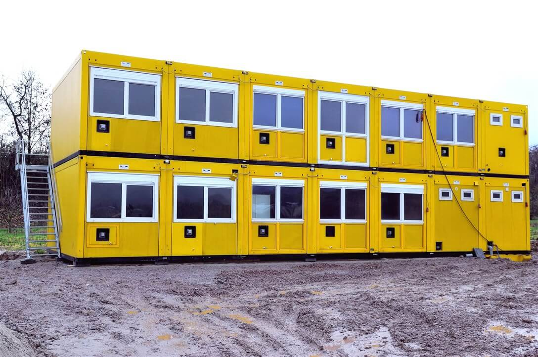 Delivery of office container and modular office buildings in Ivory Coast, Senegal, Ghana and Cameroon