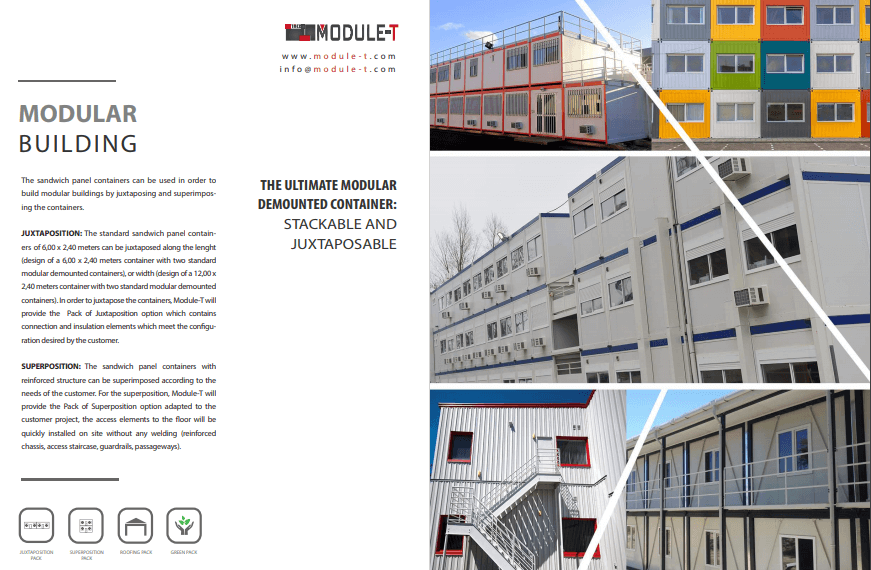 MODULAR PREFABRICATED BUILDING