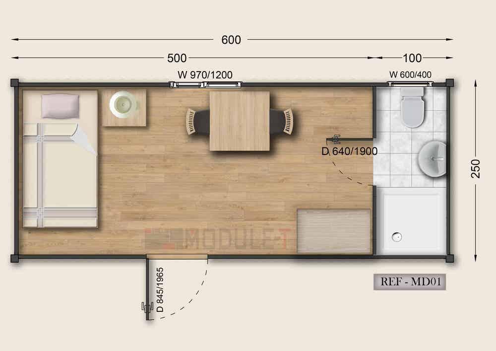 Dormitory Configuration