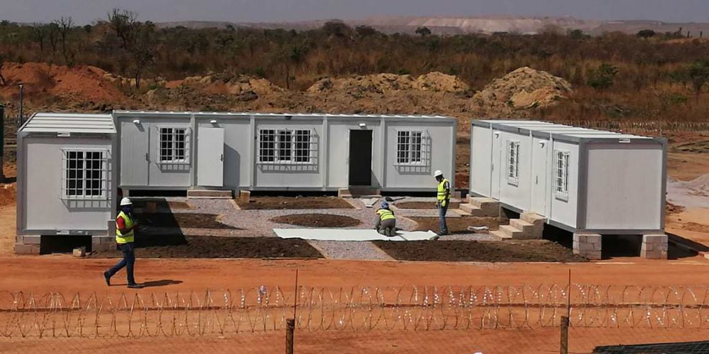 prefabricated container