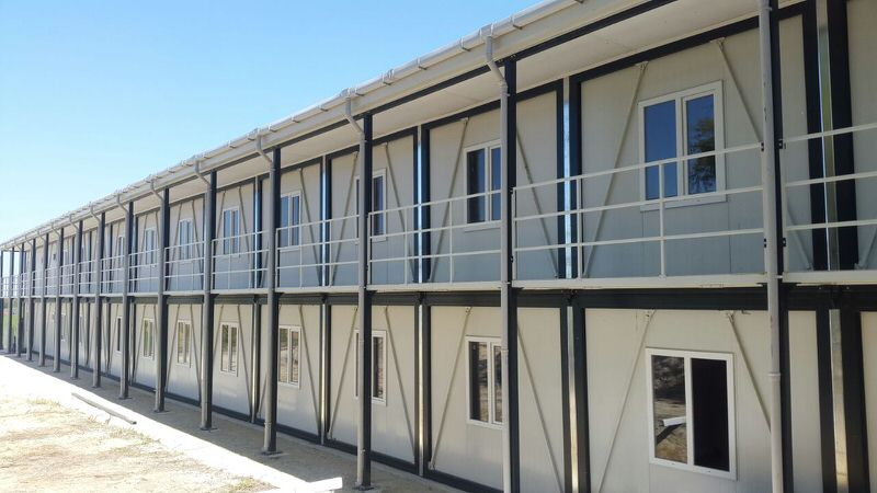 Delivery of Prefabricated Containers and Buildings
