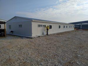 Fournisseur de bâtiment préfabriqué en Turquie