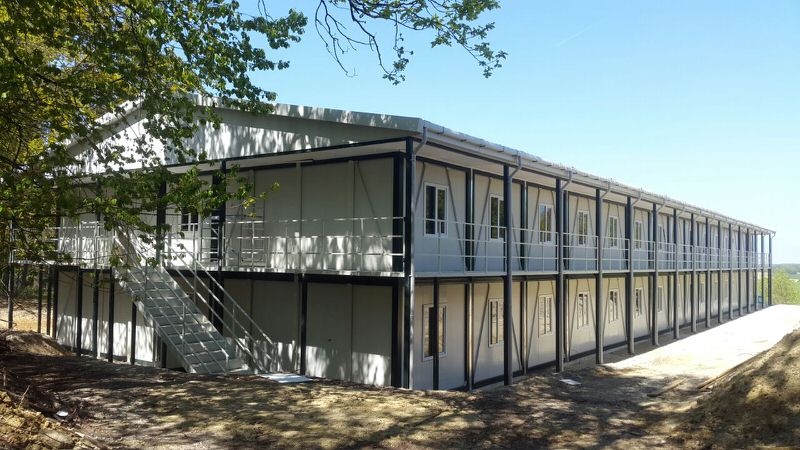 Modular Building : Economical and quickly assembled system
