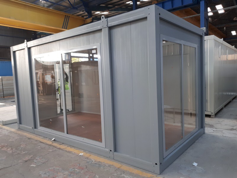 Flatpack Showroom Container