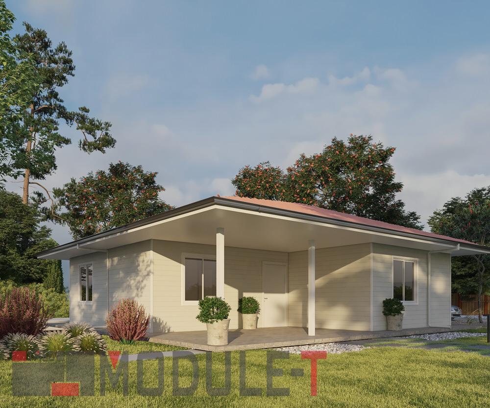 3 BEDROOM PREFAB HOUSE