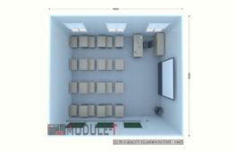 Classroom 5x6m 12p-1