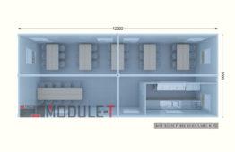 Refectoire Modulaire 5x12m_40p-1