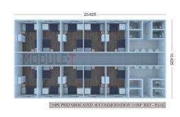 Bâtiment Logement Préfabriqué
