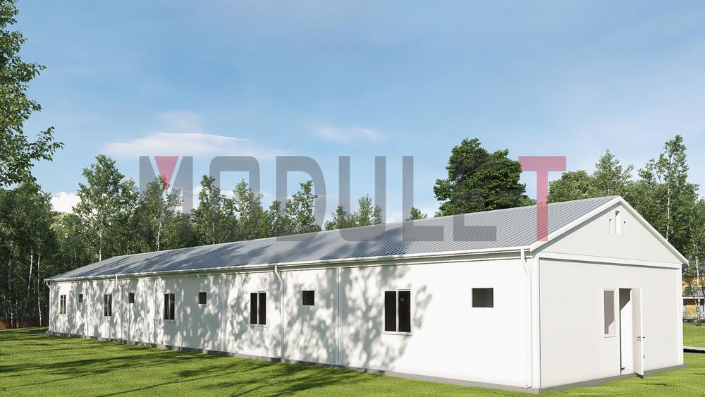 bâtiment dortoir modulaire