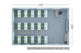 Escuelas y Aulas Modulares Prefabricadas
