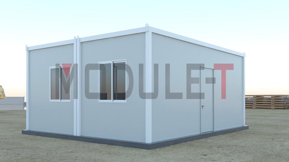 modular locker room container