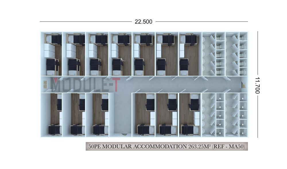 modular accommodation unit