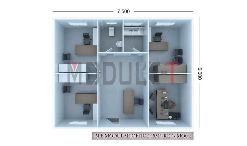 modular construction office